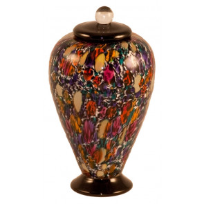Deco Desert Hand Blown Glass Pet Cremation Urn
