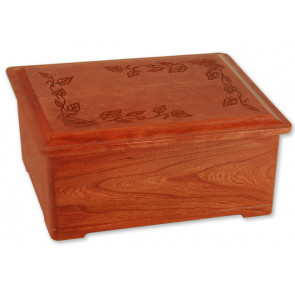 Autumn Leaves Cremation Urn for Ashes