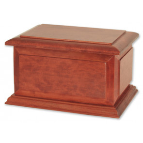 Boston II Companion Cremation Urn for Ashes - Cherry