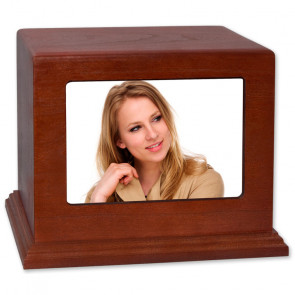Photo Display Urn - Horizontal