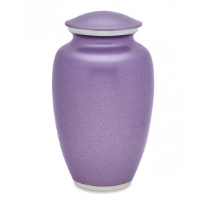 Violet Blush Cremation Urn for Ashes
