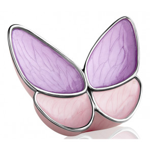 Wings of Hope Butterfly Cremation Urn - Lavender