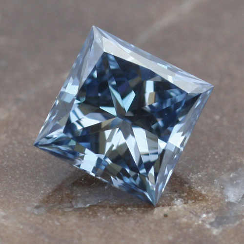 Princess Cut Cremation Diamond